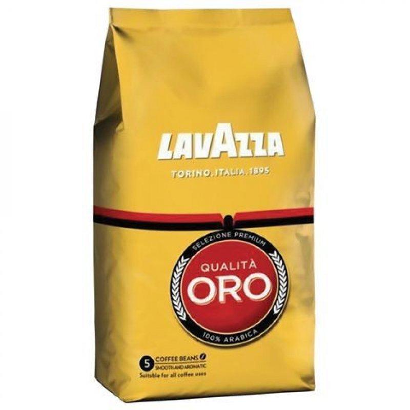 Кофе Lavazza Qualita Oro в зернах 1000г вакуумная упаковка
