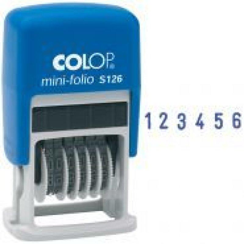 Нумератор Colop S126 6 разрядов оттиск 20х3,8мм