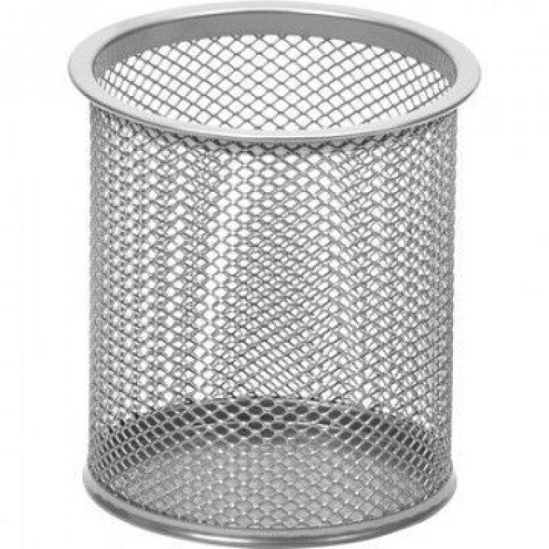 Подставка-стакан  металлическая Attache серебристая