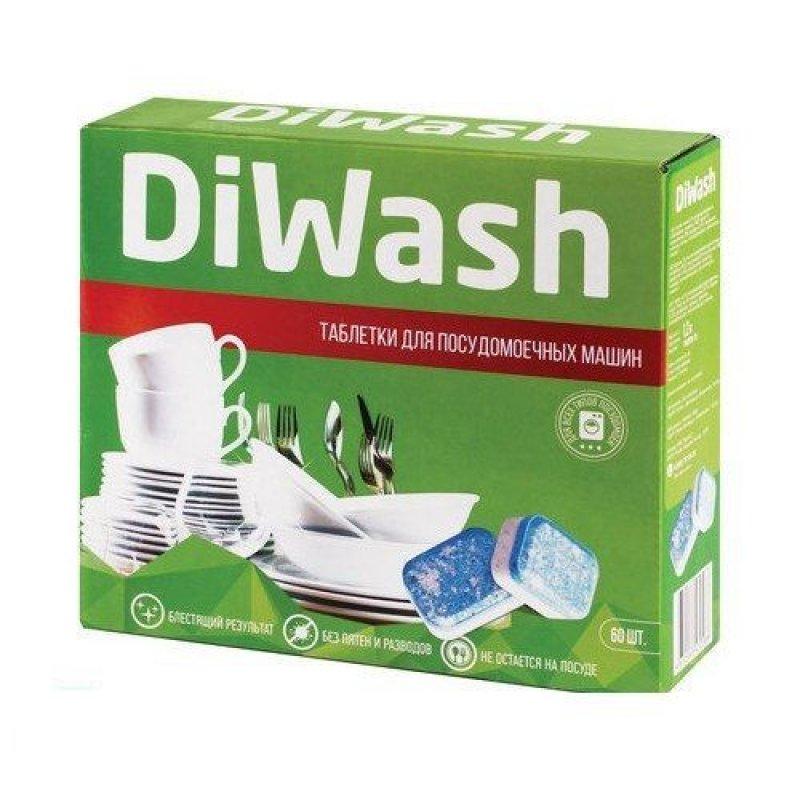 Средство для п/м машин 60 таб DiWash (ДиВош)