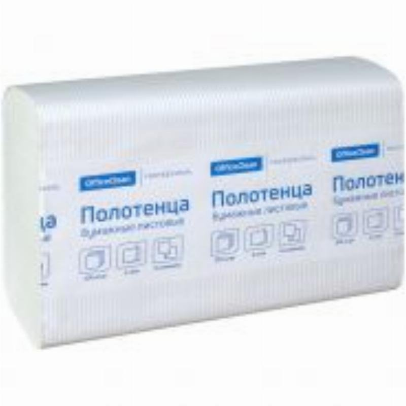 Полотенце бумажное OfficeClean Professional 2-сл Z-слож 215х240мм 200л белое