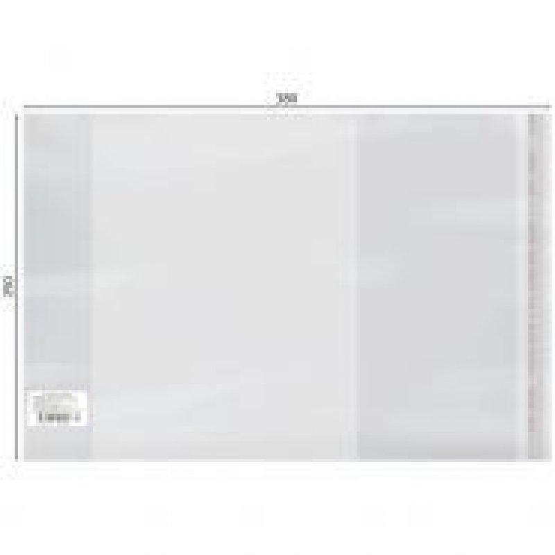 Обложка 250х380мм для учебников универсальная с липким слоем