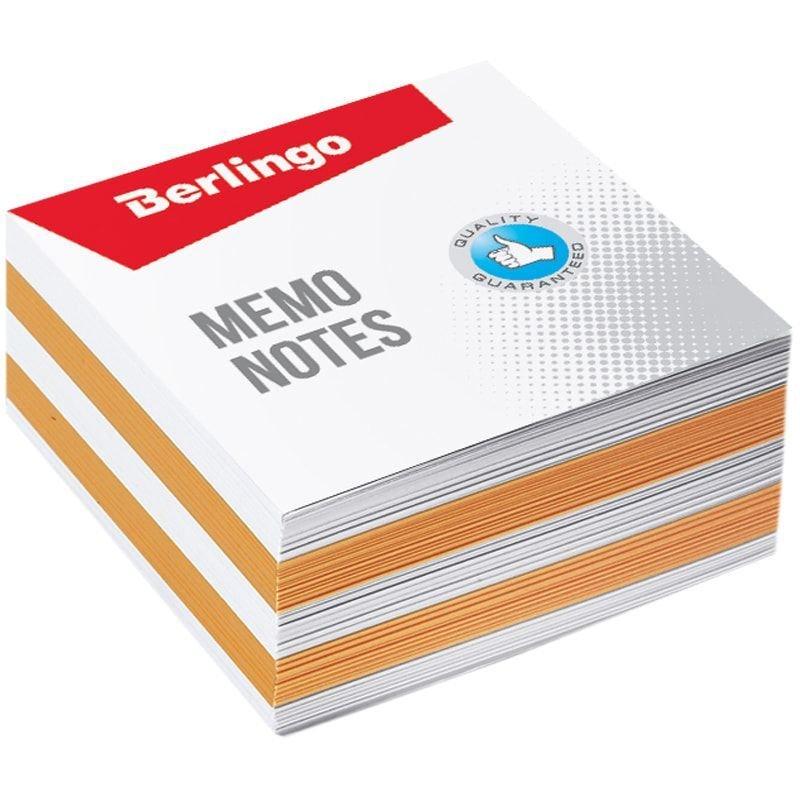 Блок для записей 90х90х45мм Berlingo Standart цветной запасной 2 цвета