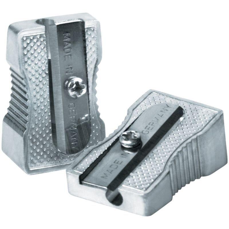 Точилка 1 отверстие Berlingo Steel&Style металлическая