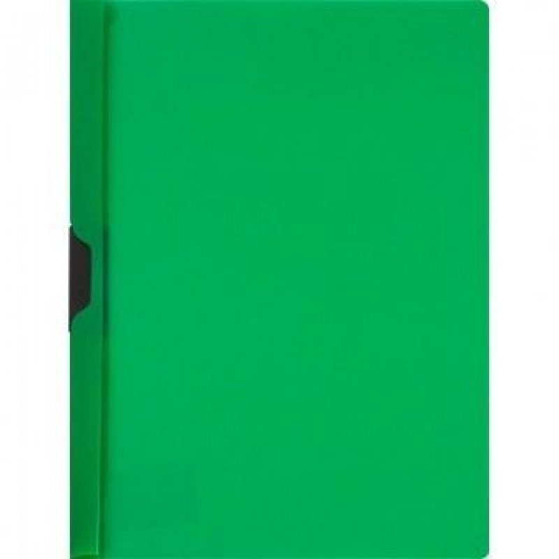 Папка с клипом Attache до 30л зеленая