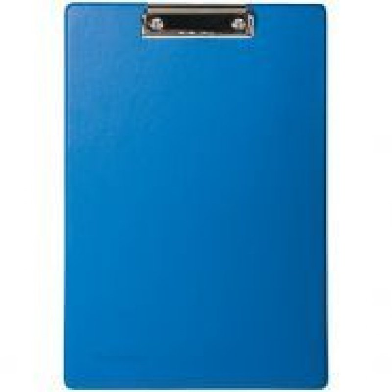 Папка-планшет c зажимом А4 Berlingo пвх синий