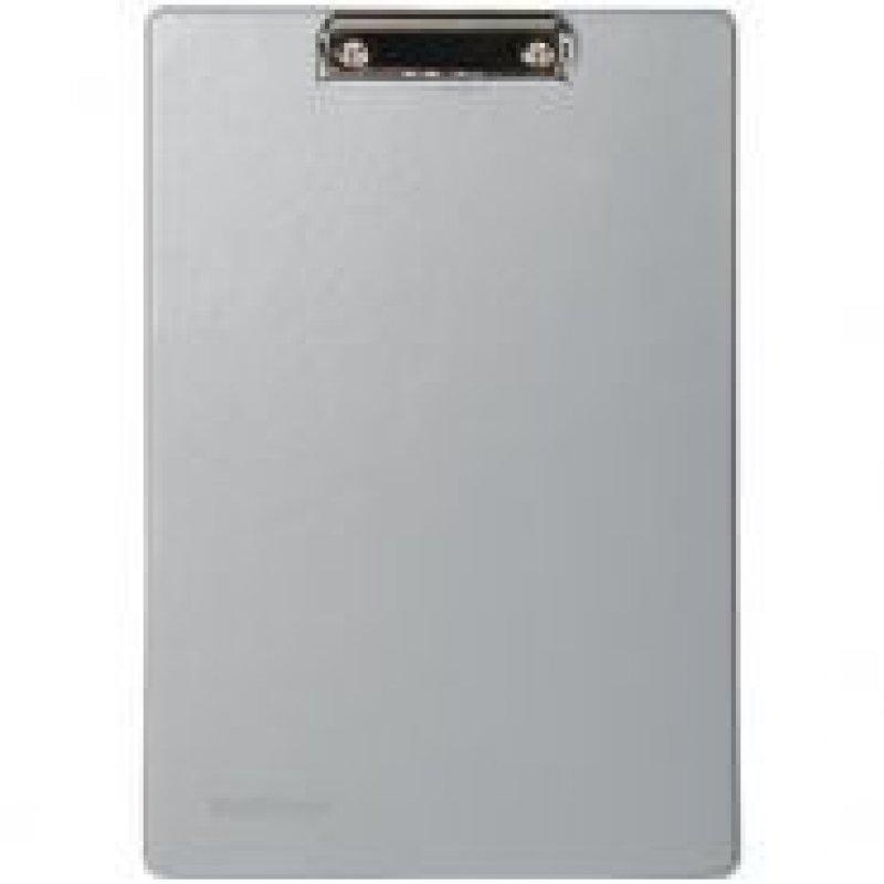 Папка-планшет c зажимом А4 Berlingo пвх серый