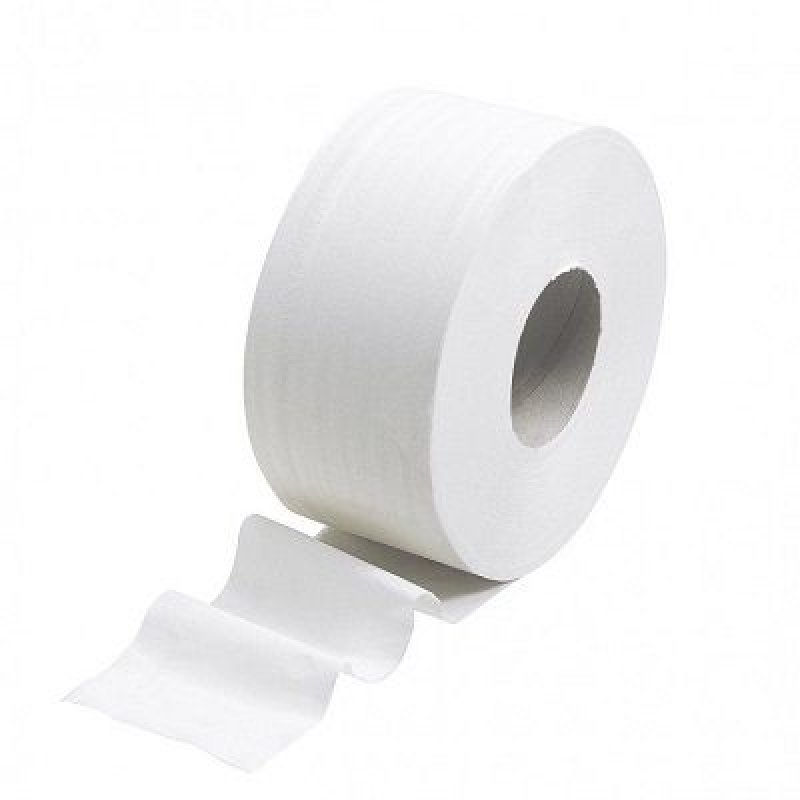 Бумага туалетная 1-сл 200м отбеленная