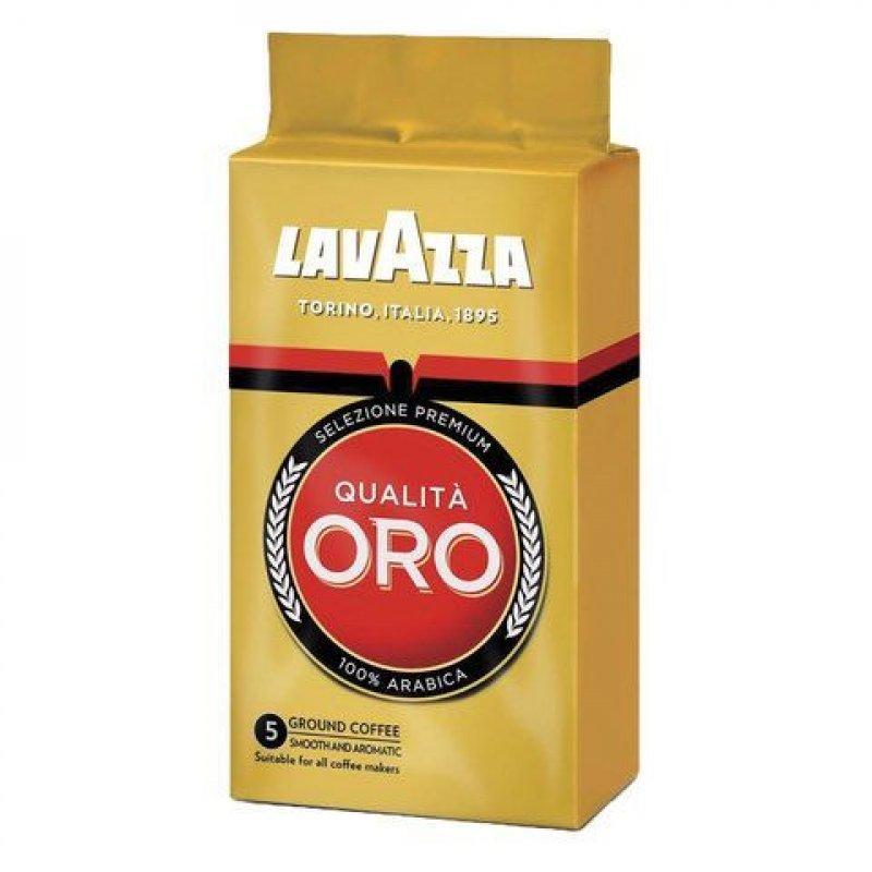 Кофе Lavazza Qualita Oro молотый 250г вакуумная упаковка