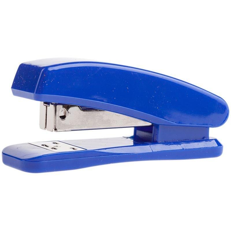Степлер №24/6 OfficeSpace 20л пластиковый корпус синий