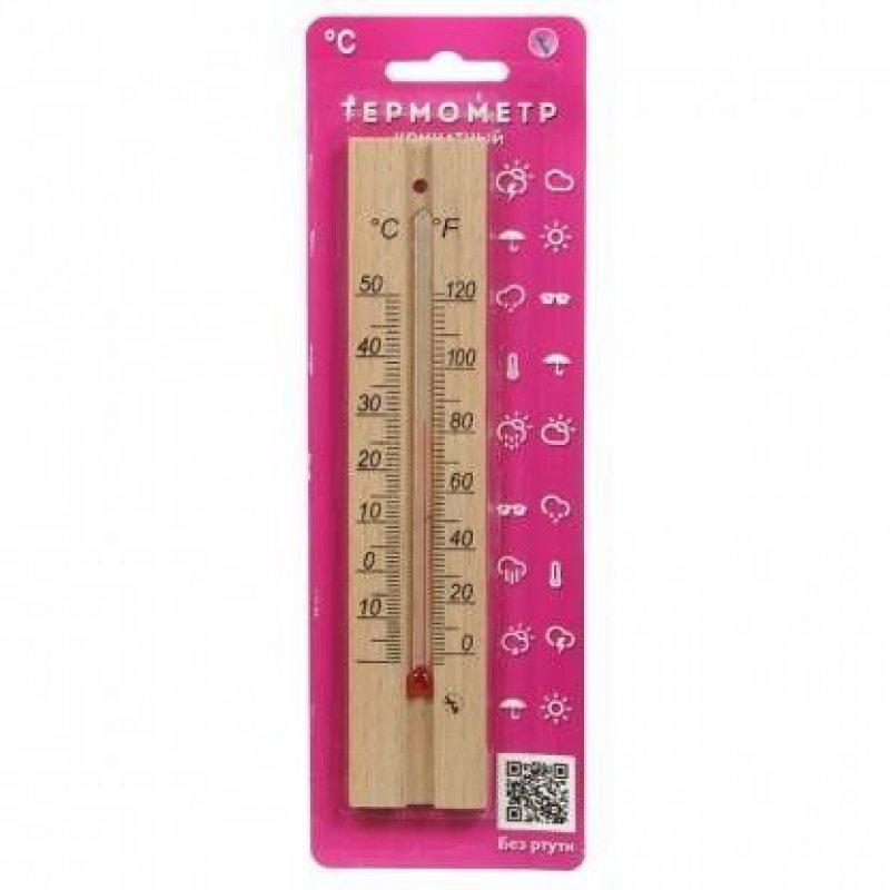 Термометр комнатный деревянный