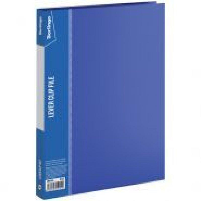 Папка-скоросшиватель с боковым зажимом Berlingo Standart 0,7мм синяя