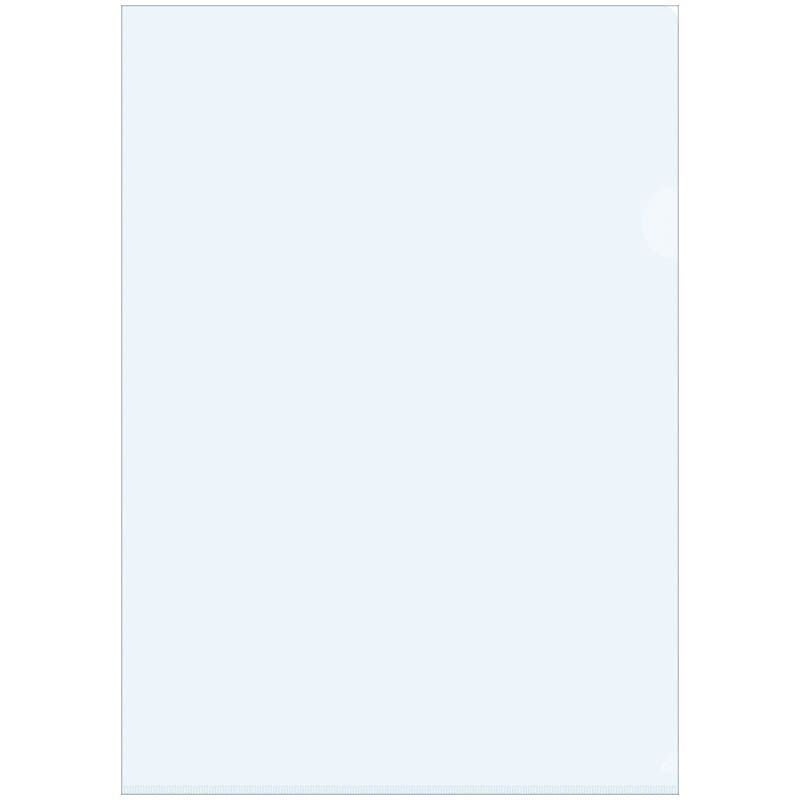Папка-угол (карман) OfficeSpace 0,15мм тонированная бесцветная