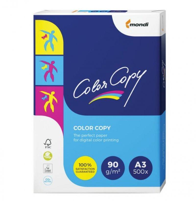 Бумага Color Copy A3 90 г/м 161% ISO 500л