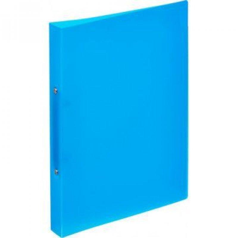 Папка на 2-х кольцах 32мм Attache синяя 0,45мм