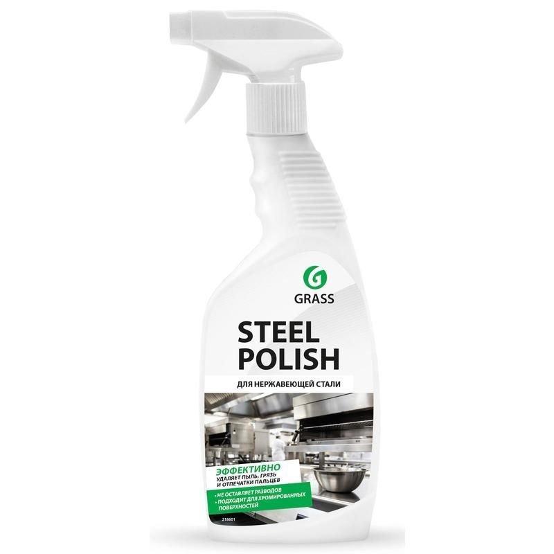 Чистящее средство Grass Steel Polish 600мл для металла курок