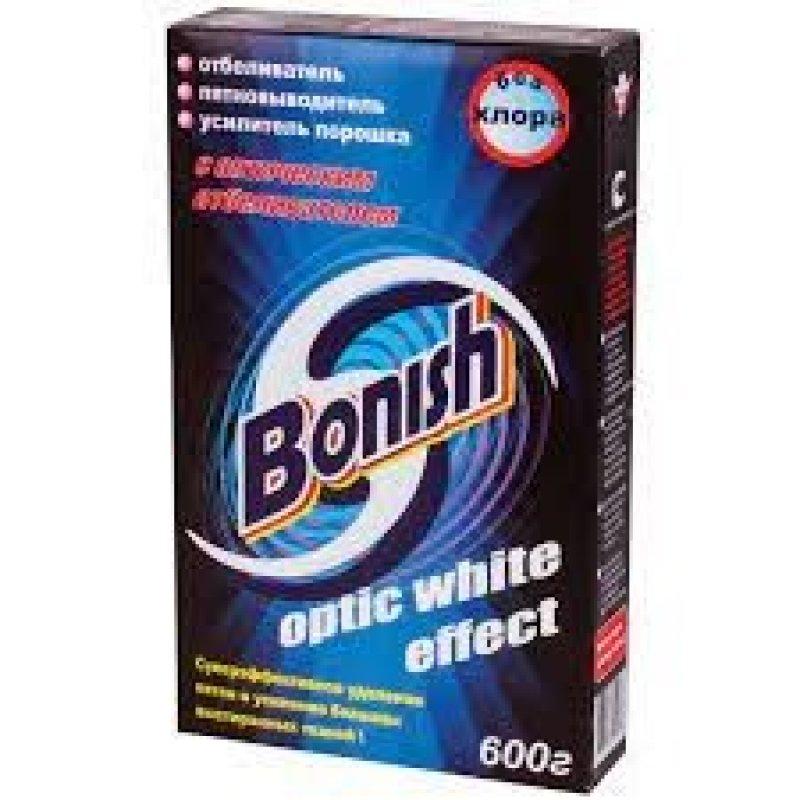 Отбеливатель-пятновыводитель 600гр BONISH (Бониш) Бережный уход и защита цвета