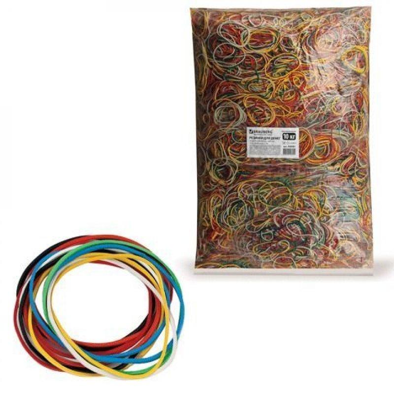 Резинка для денег 10 кг d-60мм цветные