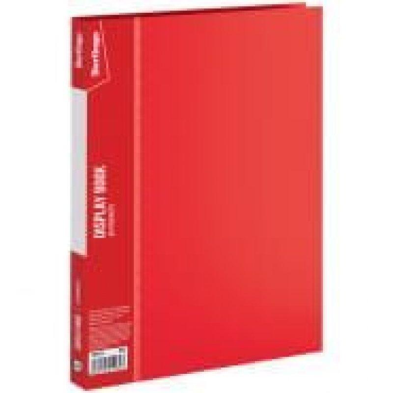 Папка 20 вкладышей Berlingo Standard 0.6мм красная