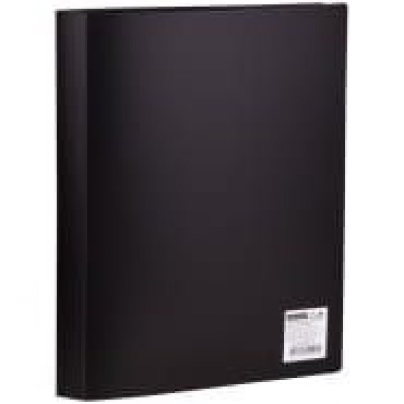 Папка 40 вкладышей OfficeSpace 0,4мм черная