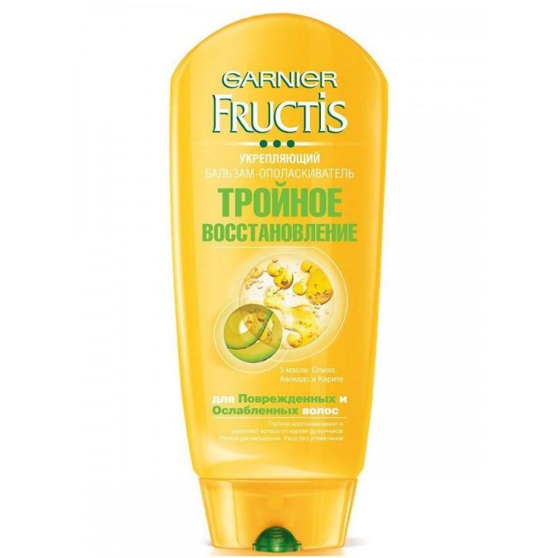 Бальзам для волос Фруктис 200мл Тройное восстановление