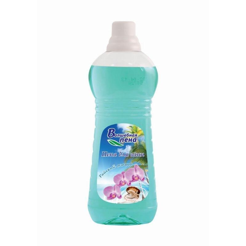 Пена для ванн Help 1л Волшебная пена Райский остров