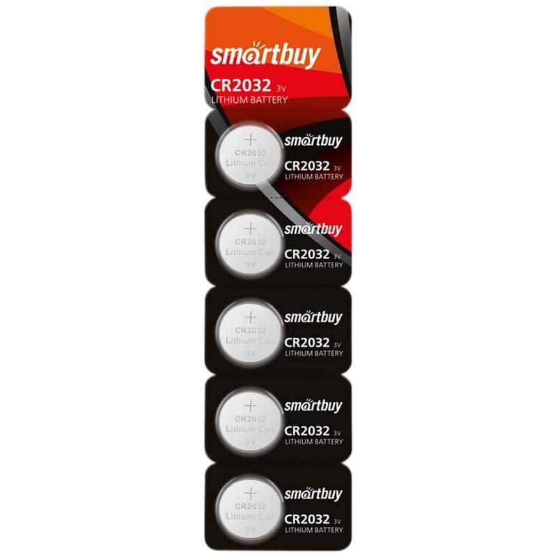 Батарейка SmartBuy CR2032 (1шт в отрывном блистере)