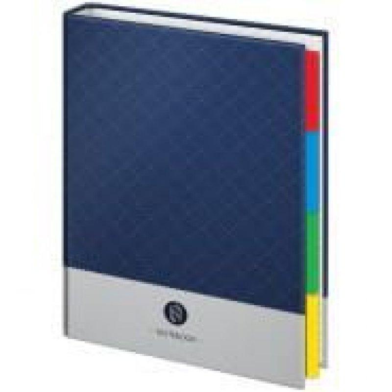 Тетрадь на кольцах со сменным блоком 240л А5 Моноколор Notebook 4 разделителя