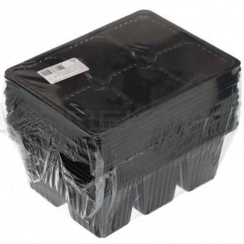 Кассета для рассады 6 ячеек 17,5х13,5х6,5 см 10 шт/уп