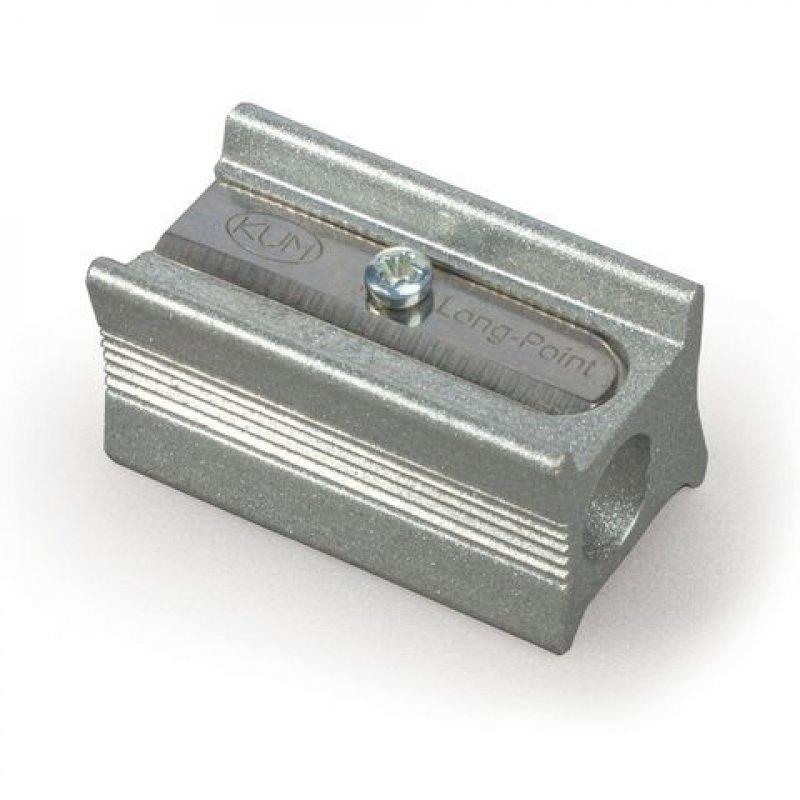 Точилка 1 отверстие Koh-I-Noor металлическая для удлиненного грифеля