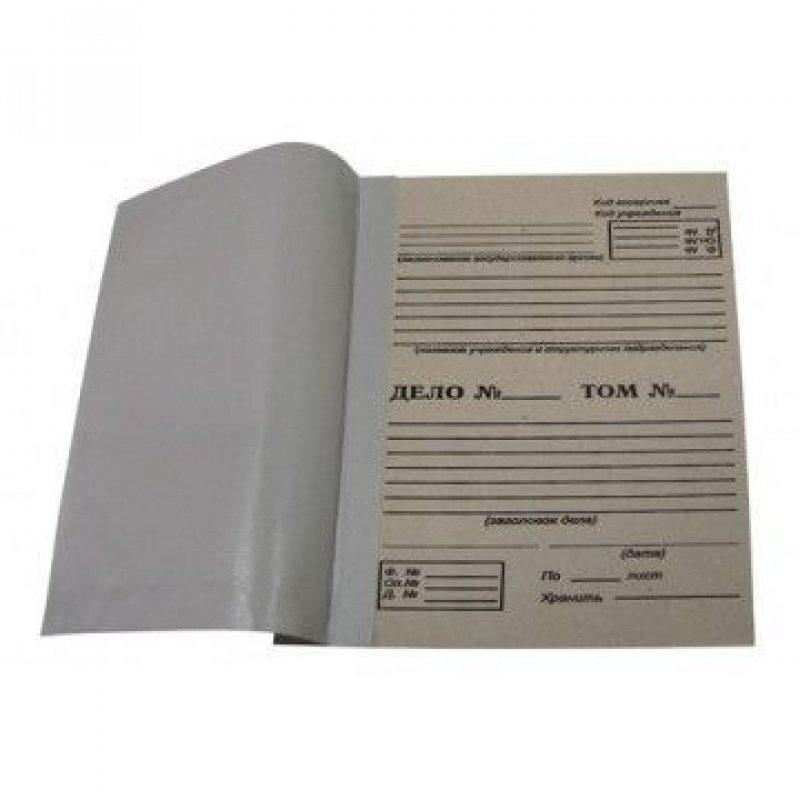 Папка архивная для переплета 50мм 500л картон/бумвинил бурая 305x215х50мм Attache