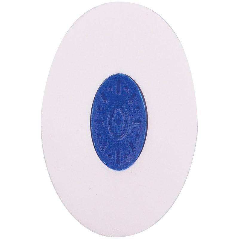Ластик OfficeSpace 60х50х9мм овальный термопластичная резина пластиковый держатель
