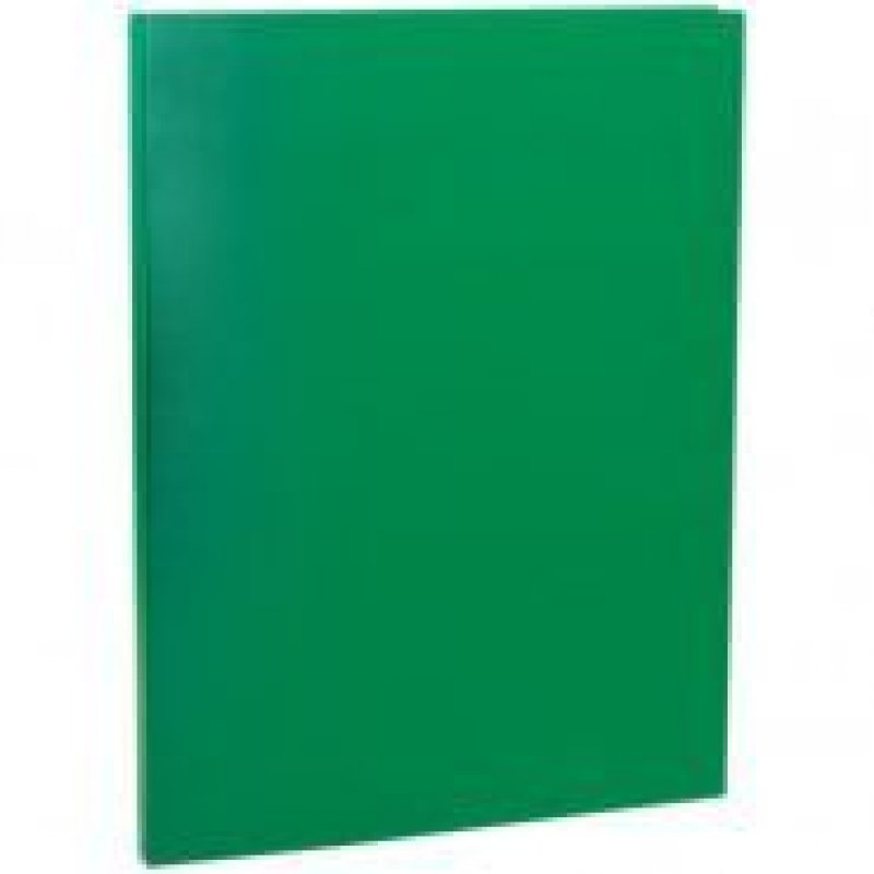 Папка-скоросшиватель с пружиной OfficeSpace зеленая