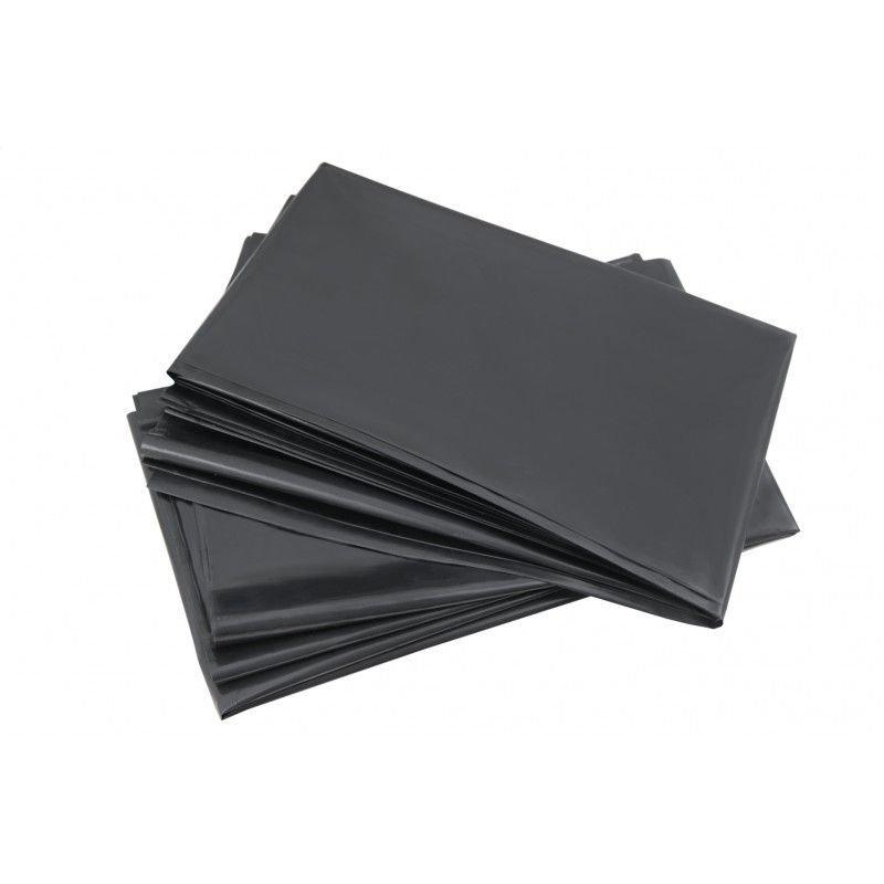 Мешки для мусора 120л 70x110см 55мкм 1шт черные ПВД