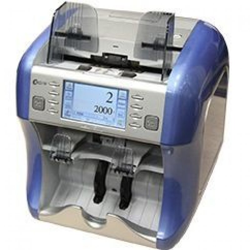 Счетчик банкнот Kisan Newton PF 1200 банкнот/мин УФ ИК детекция