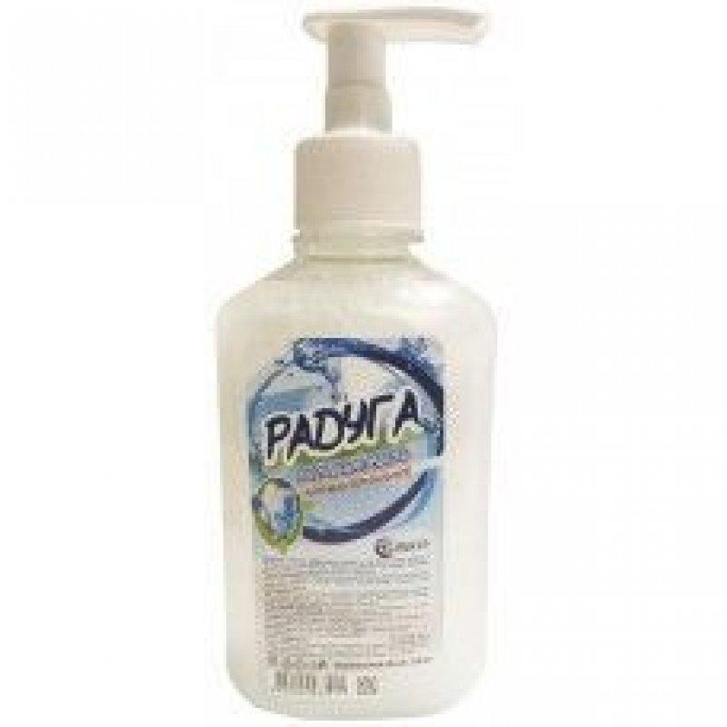 Мыло жидкое 250мл Радуга антибактериальное дозатор