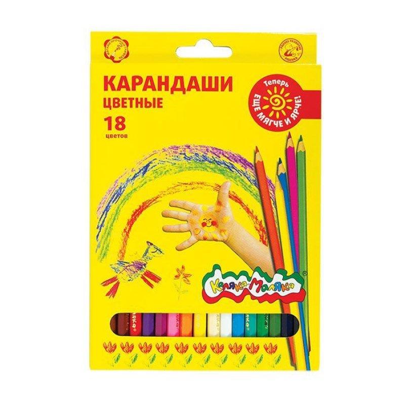 Карандаши 18цв Каляка-Маляка шестигранные