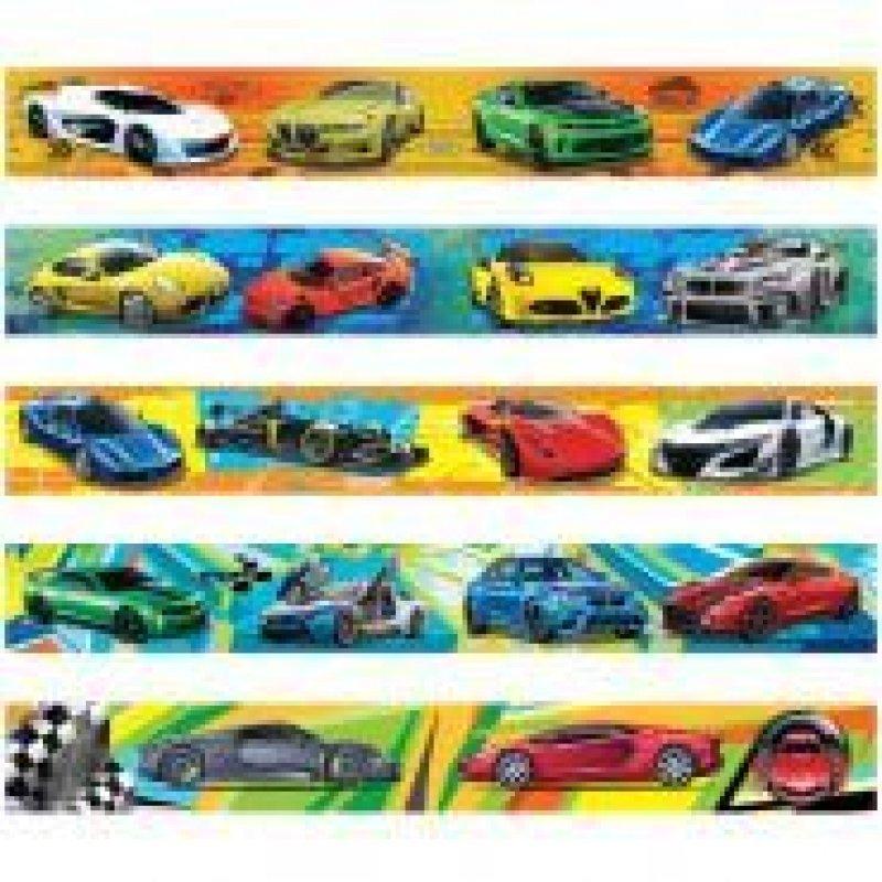 Закладка для книг Магнит Спортивные автомобили