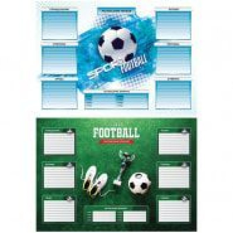 Расписание уроков А3 с расписанием звонков Спорт Футбол