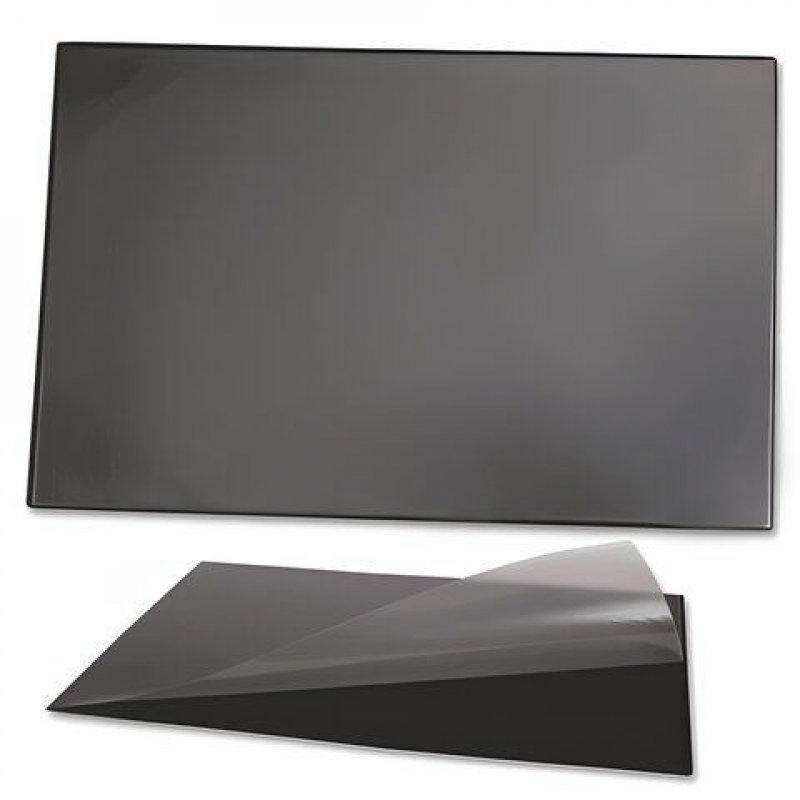 Коврик на стол 38х59см черный с карманом