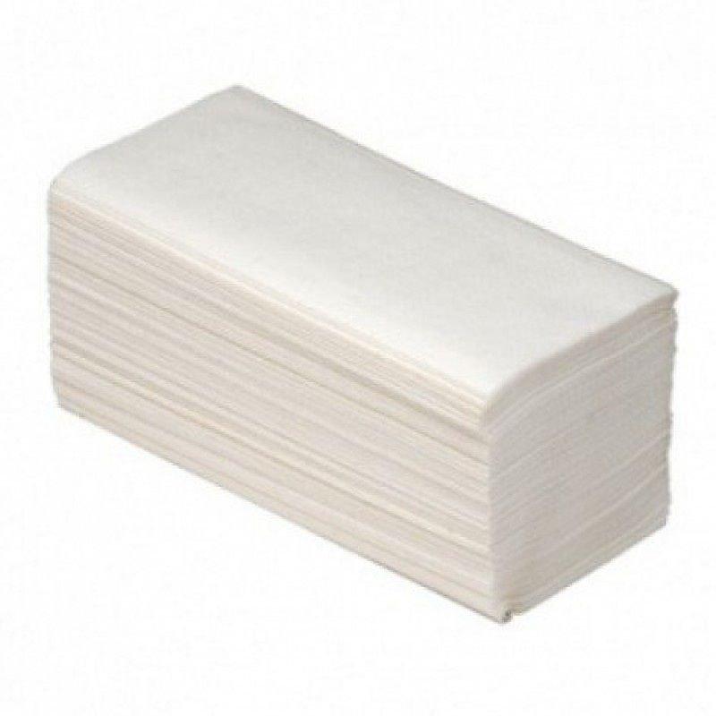 Полотенце бумажное ВК 1-сл V-слож 230х230мм 200л белое