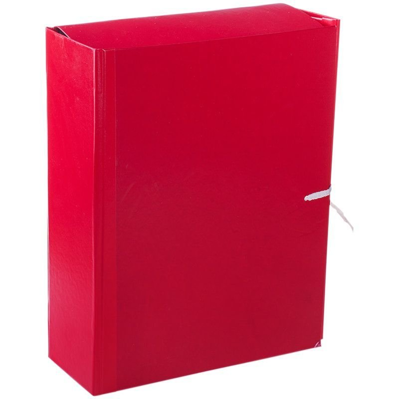 Папка архивная 80мм 4 завязки 700л бумвинил ассорти жесткие клапаны 320х250х80мм OfficeSpace