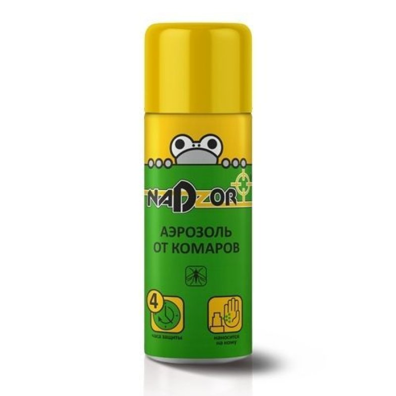 Аэрозоль от комаров 100мл Надзор