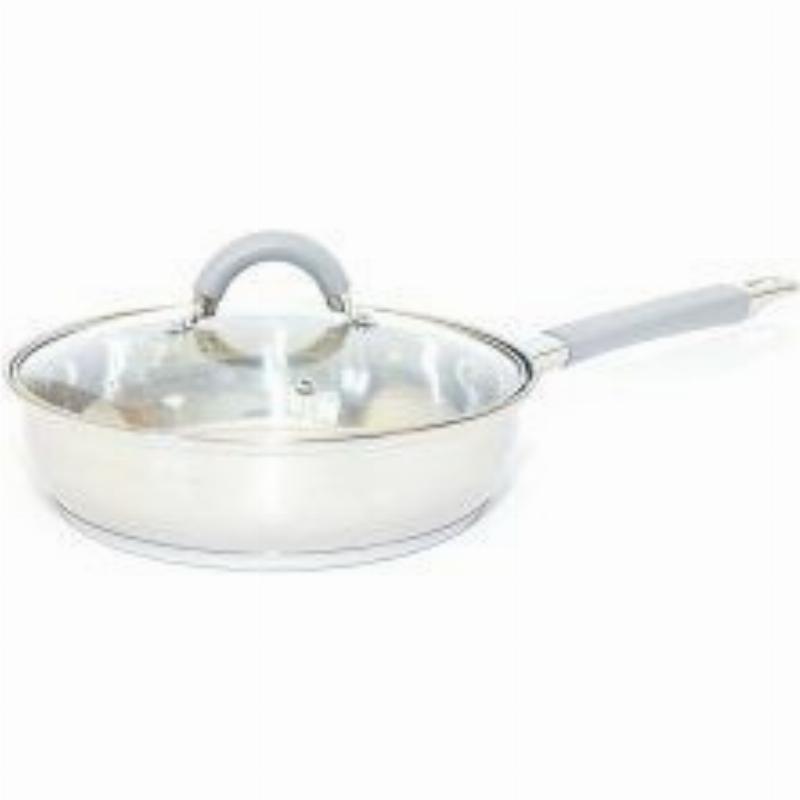 Сковорода 2,9л с крышкой нерж