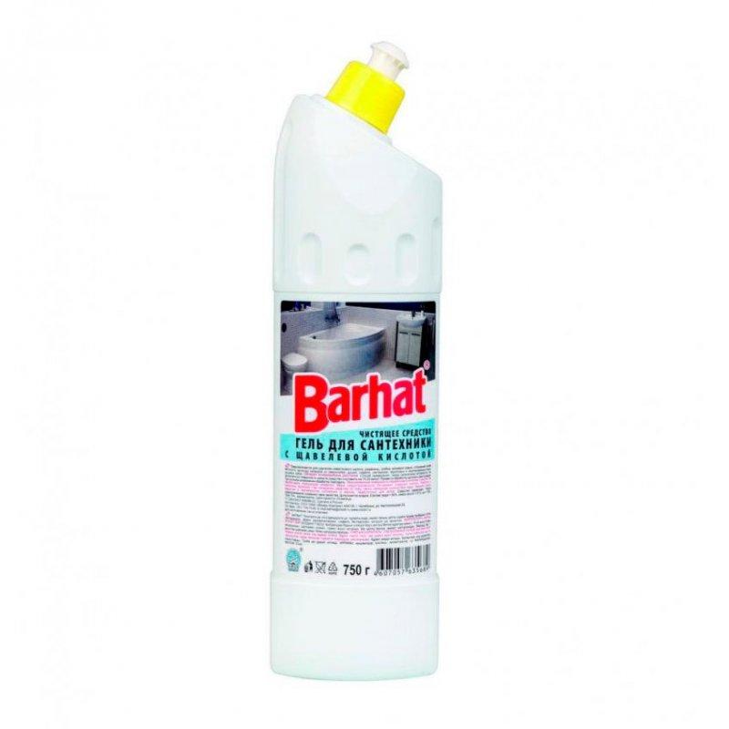 Чистящее средство для сантехники 750мл гель Бархат с щавелевой кислотой
