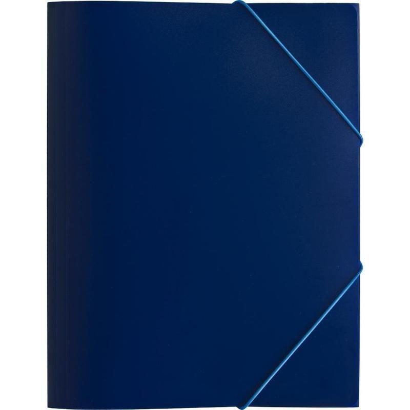 Папка на резинках Attache Economy А4 0,45мм синяя