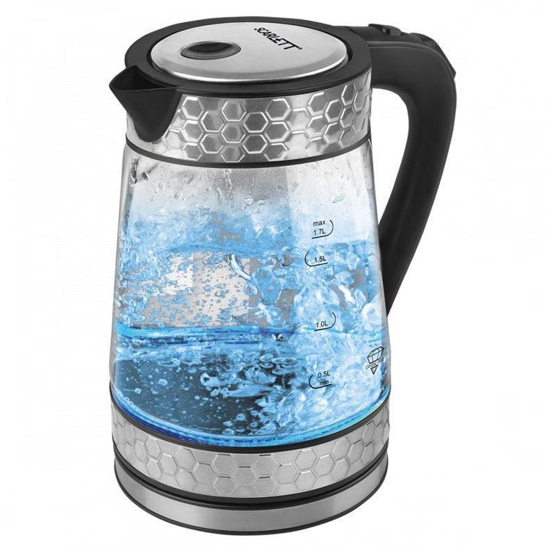 Чайник Scarlett SC-EK27G58 2200Вт 1,7л стекло