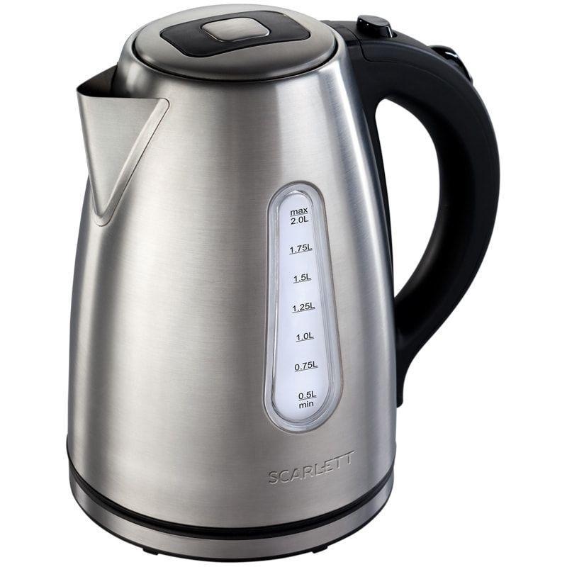 Чайник Scarlett SC-EK21S43 2200Вт 2л нержавеющая сталь