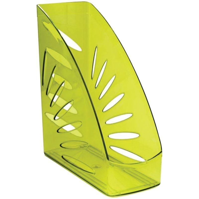 Стойка для бумаг Стамм Тропик Лайм тонированная зеленая