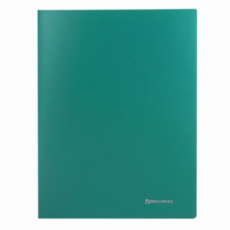 Папка-скоросшиватель Brauberg Office зеленая